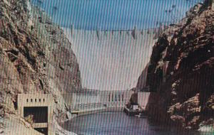 Nevada Hoover Dam Downstream Face 1952