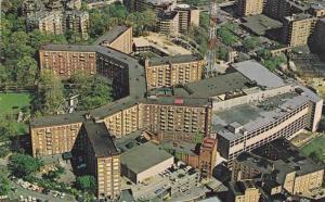 Aerial view,  The Sheraton-Park Hotel & Motor Inn,   Washington D.C.,   40-60s