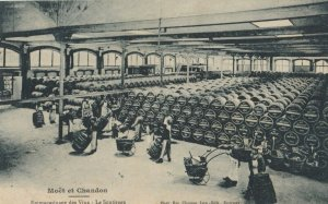 MOET & CHANDON , France, 1900-10s ; Champagne Production #6