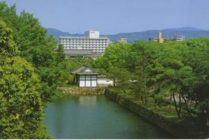 Ana Hotel Kyoto Japan Kyoto-shi Vintage Ad Advertising Postcard D4
