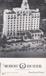 Florida Miami Beach Robert Richter Hotel