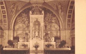 Springfield Illinois~Chapel of Perpetual Adoration~Interior View~1930s Artvue Pc