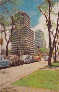 Paseo de la Reforma, Mexico , PU-1955