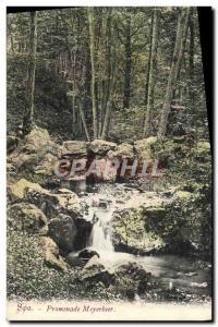 Old Postcard Spa Promenade Meyerbeer