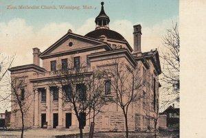 WINNIPEG, Manitoba, Canada, 1900-10s; Zion Methodist Church