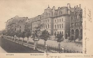 OTTAWA, Ontario, Canada, 1905 ; Wellington Street