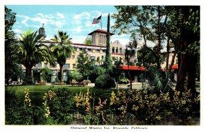 California  Riverside , Glenwood Mission Inn , rear view