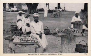 Barbados Bridgetown The Market