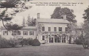 New Jersey Princeton Morven The Home Of Richard Stockton The Signer Of The De...