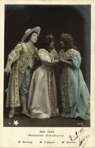 CPA Severin – Finance – Devriel – Don Juan – Pantomine THEATER STARS (777943)