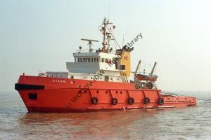 ap0943 - Norwegian Tug - Starmi , built 1977 - photo 6x4