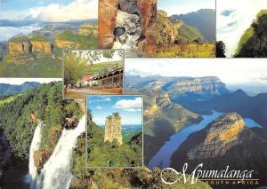 South Africa Mpumalanga Province Sunrise Waterfalls Panorama