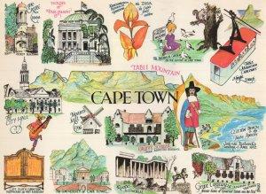 Cape Town South Africa University Beach Giant PB Rare Postcard