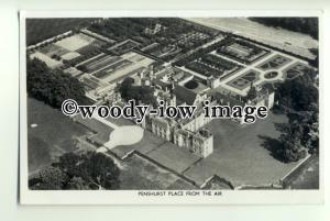 tp0844 - Kent - Aerial View of  Penshurst Place and surrounding Area - Postcard