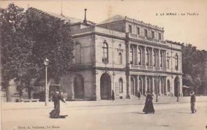 Le Mans (Sarthe), France, 1900-1910s; Le Theatre