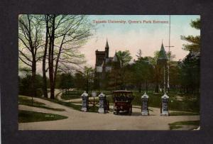 Carte Canada Uni.On Entrance Toronto Ontario University Queens Park Carte Postale