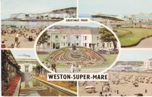 Post Card Somerset Weston-Super-Mare Greetings from