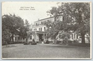 Old Lyme Connecticut~Old Lyme Inn~2nd Empire Architecture~Mansard Roof~c1910