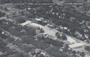 Wisconsin Whitewater Aerial View Fairhaven Where Life is Added to Years Artvue