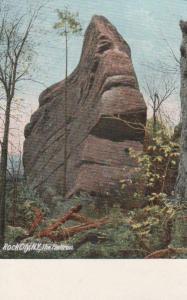 The Flatiron Giant Rock Rock City Park, Olean NY, New York - UDB