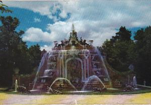 Spain La Granja De San Ildefonso Diana's Baths Fountain