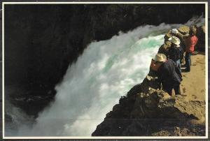Wyoming, Yellowstone NP, Upper Falls, unused