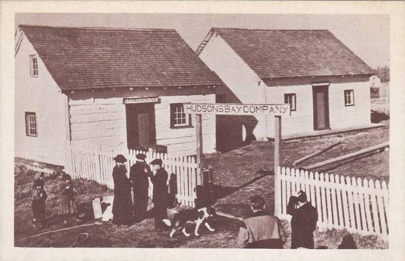 Hudson´s Bay Company, Store House, Dog, Hay River, Northwest Territories, Ca...