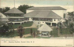 Summit Park NY Dancing Pavilion c1905 Hand Colored Postcard