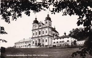Austria Salzburg Wallfahrts Basillika Maria Palin Real Photo
