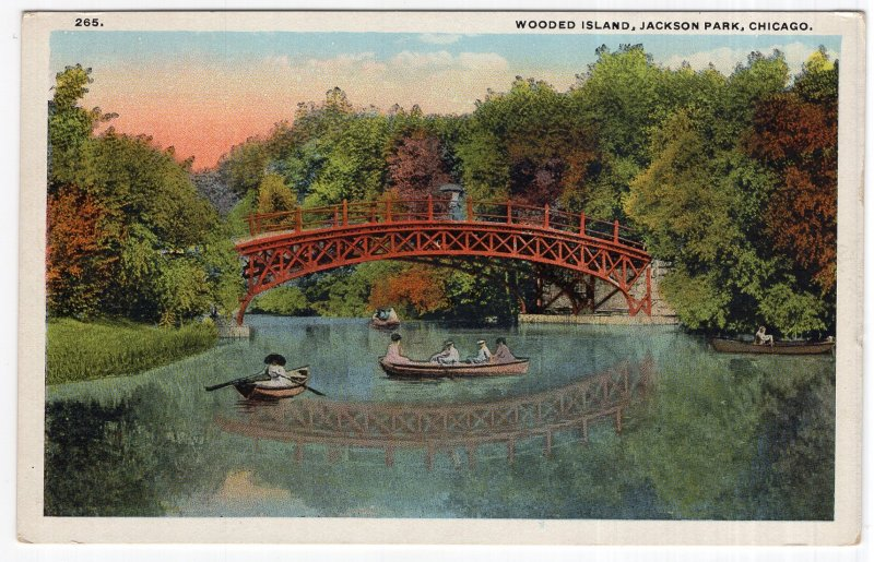 Chicago, Wooded Island, Jackson Park
