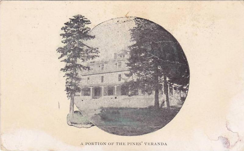 A Portion of the Pines' Veranda, The Pines Hotel, Canada, 00-10´s