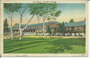 Log Lodge, Lucerne In Maine