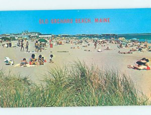 Pre-1980 BEACH SCENE Old Orchard Beach Maine ME AE9126