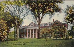 Massachusetts Springfield Home For Aged Women 1911