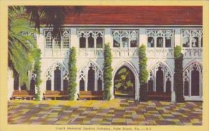 Florida Palm Beach Cluett Memorial Gardens Entrance Dexter Press