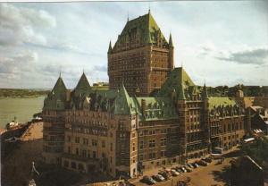 Canada Quebec Chateau Frontenac