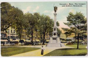 Common & Soldiers Monument, Worcester MA