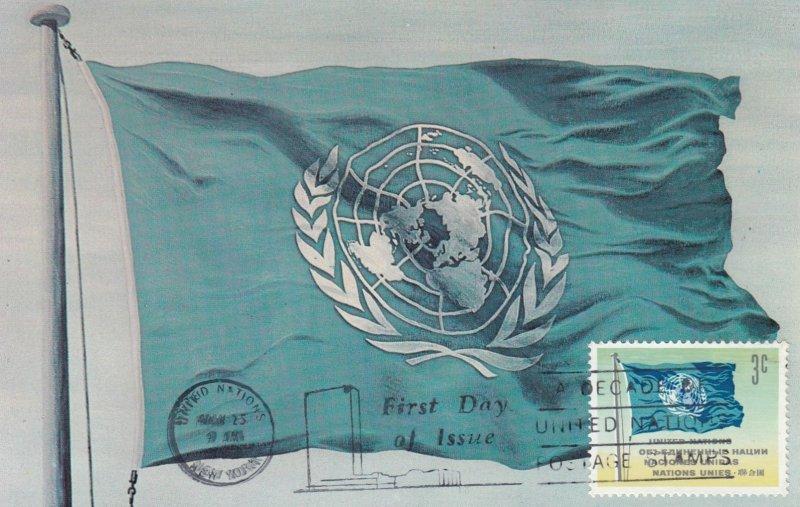 United Nations Flag , 1947