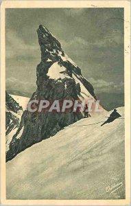 Postcard Former central Meije god or finger (3974 m)