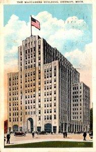 Michigan Detroit The Maccabees Building 1930