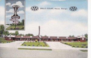 Drill's Court , MACON , Georgia , 30-40s