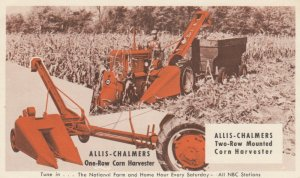 Allis-Chalmers Corn Harvester , 1930-40s
