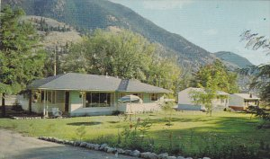 [BC] Acacia Grove Motel , SPENCES BRIDGE, Canada, 50-60s