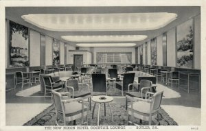 BUTLER , Pennsylvania , 1910-20s; The New Nixon Hotel Cocktail Lounge