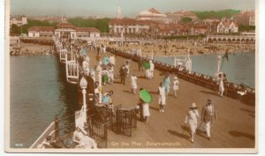 Dorset; On The Pier, Bournemouth PPC By J Welch, 1931, To Mrs Lias, Southsea