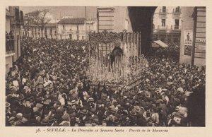 SEVILLA, Andalucia, Spain, 1900-1910's; La Procesion en Semana Santa