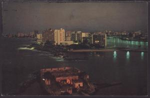 San Juan,Puerto Rico Postcard BIN