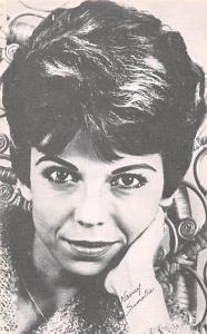 Nancy Sinatra Non Postcard Backing Unused