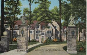 MEMPHIS , Tennessee, 1930-40s ; Entrance to Southwestern College