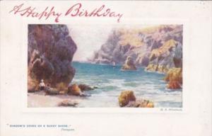 Tucks Shady Coves On A Sunny Shore Steeple Rock Kynance Cove 9723